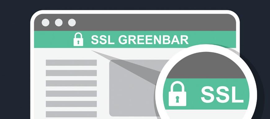 SSL Green Bar